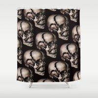broken Shower Curtains featuring BROKEN by DIVIDUS