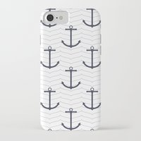 nautical iPhone & iPod Cases featuring Nautical by Background Labs