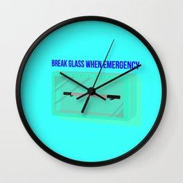 magic wand emergency Wall Clock