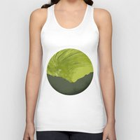 northern lights Tank Tops featuring Northern lights 1 by Richard Seyb