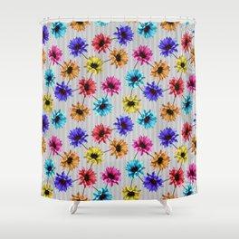 Bright Gazanias Shower Curtain