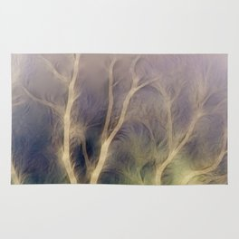 Mystic trees inverted Rug