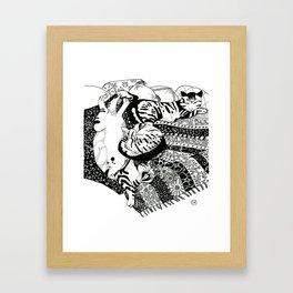 Pasha Cat Framed Art Print