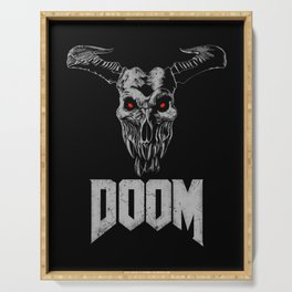 Doom - Icon of Sin Serving Tray