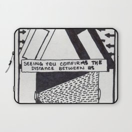 The Distance Between Us / 1995: The Booth Philosopher Series Laptop Sleeve