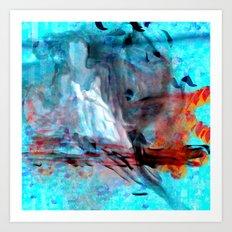 Squid Angel Art Print