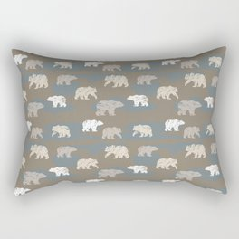 Bearish camouflage Rectangular Pillow