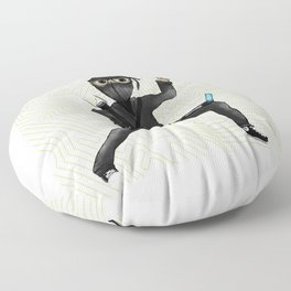 Cyber Ninja Floor Pillow
