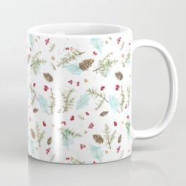 Pinecones and Berries Coffee Mug