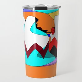 Women of the Dessert in Jewel Tones Travel Mug