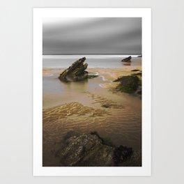 Fistral Beach, Newquay, Cornwall, England United Kingdom Art Print