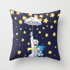 DMMd :: The stars are falling Throw Pillow