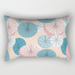 Modern Retro Pastel Pattern Rectangular Pillow