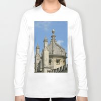 spires Long Sleeve T-shirts featuring Spires of All Souls by Ann Horn