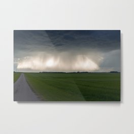 Sunbeams and Rain Metal Print