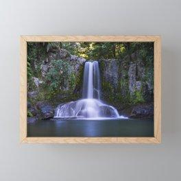 Waiau Falls Coromandel New Zealand Framed Mini Art Print