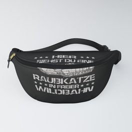 Tank t-shirt german felines soldiers outfit Fanny Pack