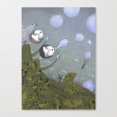 Earth and Air Canvas Print