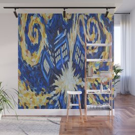 Dr Who Wall Mural