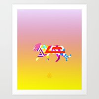EllozDesign - WildSenses3 Art Print