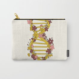 Floral DNA Carry-All Pouch