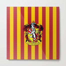 Gryffindor - Hogwarts  Metal Print