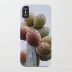 Prickly Pear Fruits Slim Case iPhone X