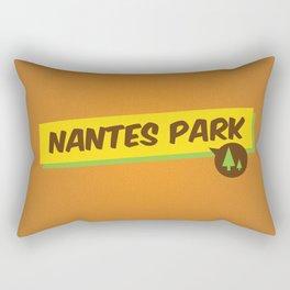 Nantes Park Rectangular Pillow