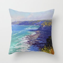 Norah Head Australia Throw Pillow