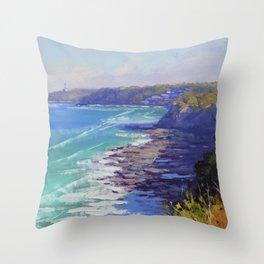 Norah Head Australia Throw Pillow
