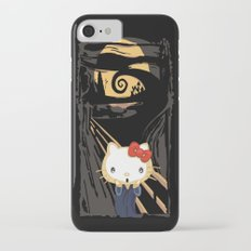 The Halloween Screaming cat apple iPhone 4 4s 5 5s 5c, ipod, ipad, pillow case and tshirt Slim Case iPhone 7