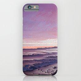 Maui Sunset Pixel Sort iPhone Case