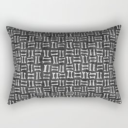 Dem Bones Rectangular Pillow