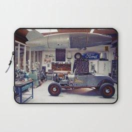 Hot Rod Garage Laptop Sleeve