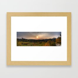 Edmonton Framed Art Print