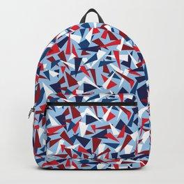 Break the Glass Ceiling! Red White & Blue Backpack