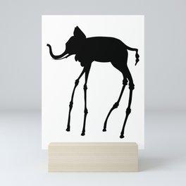 Dali - Elephant Mini Art Print