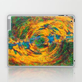 Split Hemispheres Laptop & iPad Skin