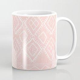 Beni Moroccan Print in Pink Coffee Mug