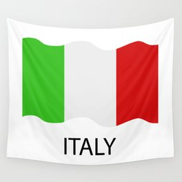 Italy flag Wall Tapestry