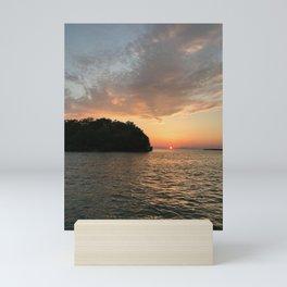 """Mouse Island, Ohio"" Photography by Willowcatdesigns Mini Art Print"