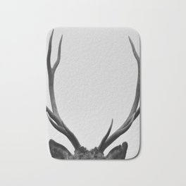 Stag antlers Bath Mat