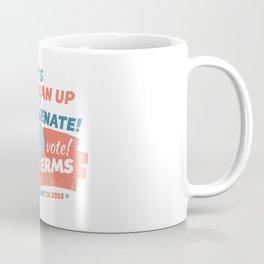 Clean Up the Senate Coffee Mug