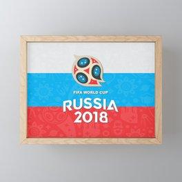 Russia world cup Framed Mini Art Print