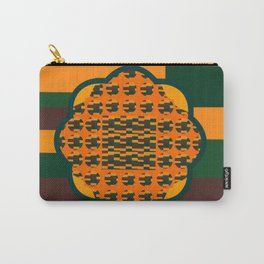 Fall Colors of Orange, Browns and Greens Carry-All Pouch
