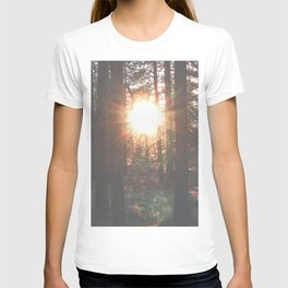 Through the woods T-shirt