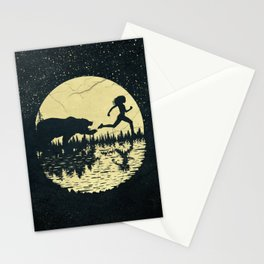 Moon Runners Stationery Cards