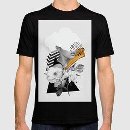 collage art (girl) T-shirt