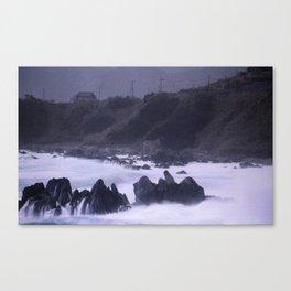 Typhoon in Japan #3 Canvas Print