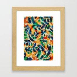Pattern № 30 Framed Art Print